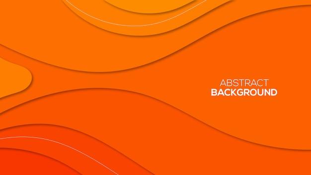 Abstract paper cut 3d backgrounds Premium Vector