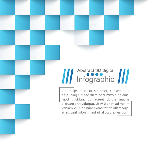 Abstract paper template Premium Vector