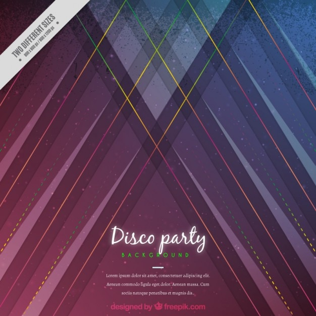 Abstract party background Vector | Free Download