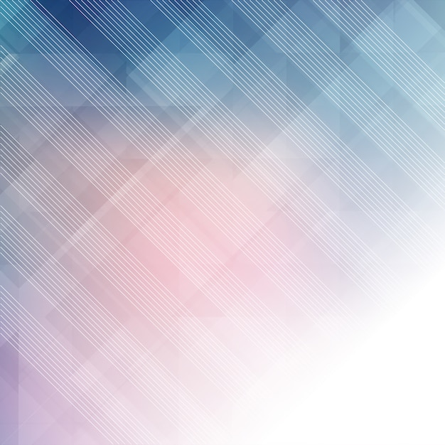 Abstract pastel background with low poly design Free Vector