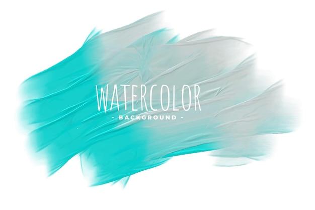 Абстрактный пастельный синий и серый акварельный фон текстуры Бесплатные векторы