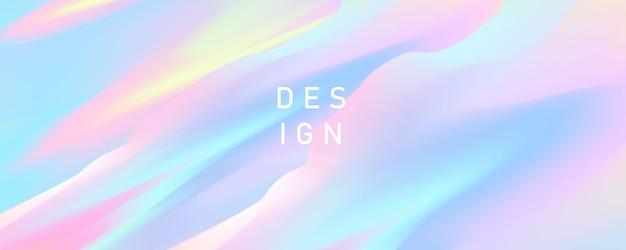 あなたのグラフィックのカラフルなデザイン、パンフレットのレイアウトデザインテンプレートの抽象的なパステルカラフルなグラデーションの背景概念 Premiumベクター