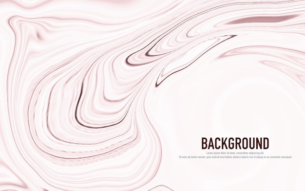 Abstract pastel pink marbled surface Premium Vector