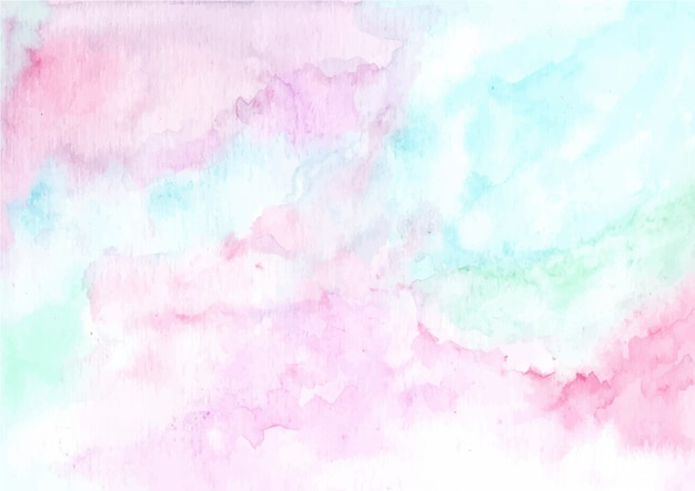 Abstract Pastel Watercolor Texture Background Premium Vector
