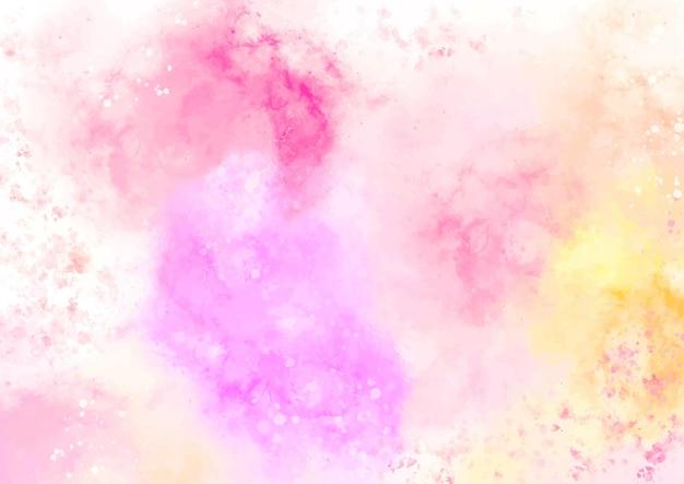Абстрактная пастель акварель текстуры фона Premium векторы