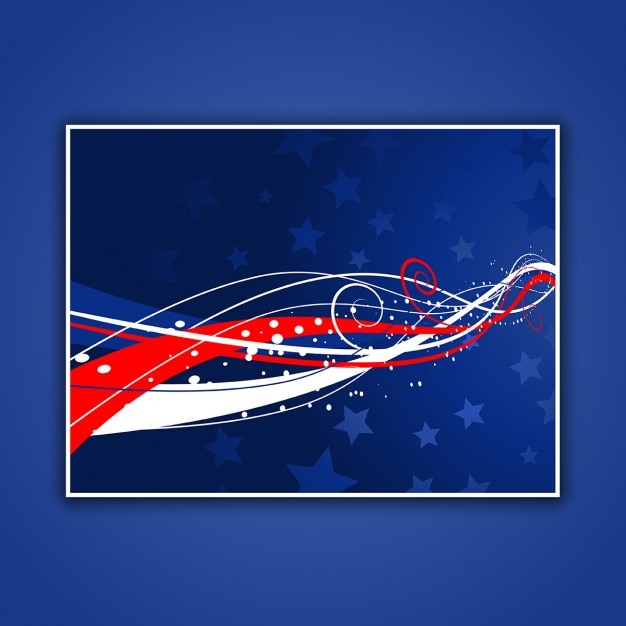 Abstract patriotic background for fourth of\ july