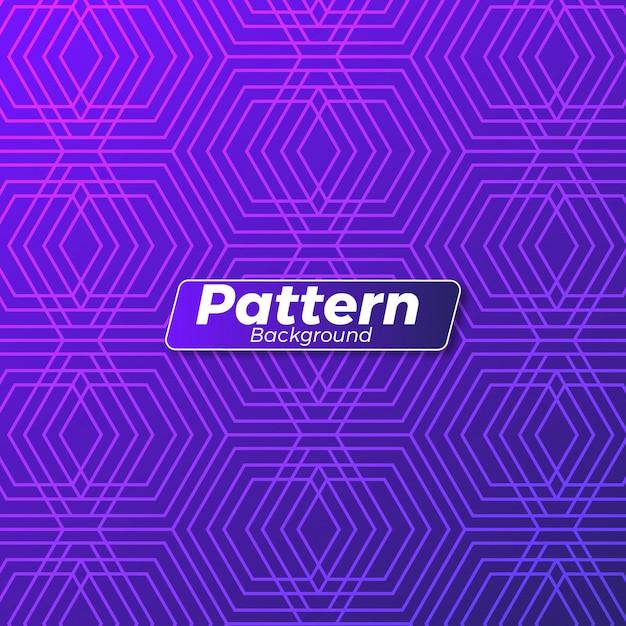Abstract pattern background design Premium Vector