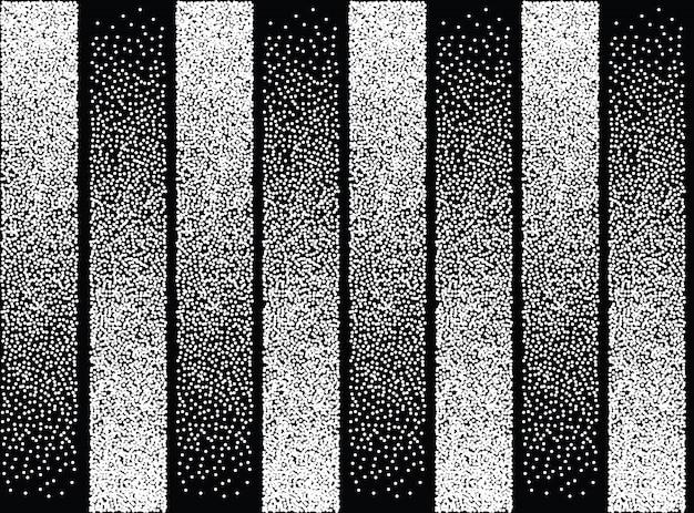 Бесшовный узор абстрактного черного и белого цвета Бесплатные векторы