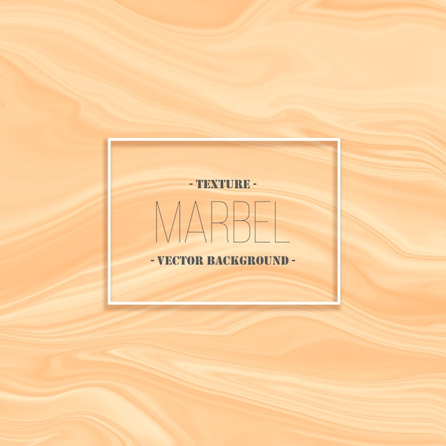 Abstract peach liquid marble texture background Free Vector
