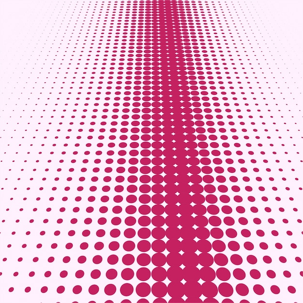 Abstract pink and white halftone background