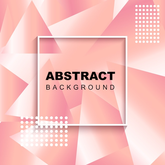 Abstract pink background Premium Vector
