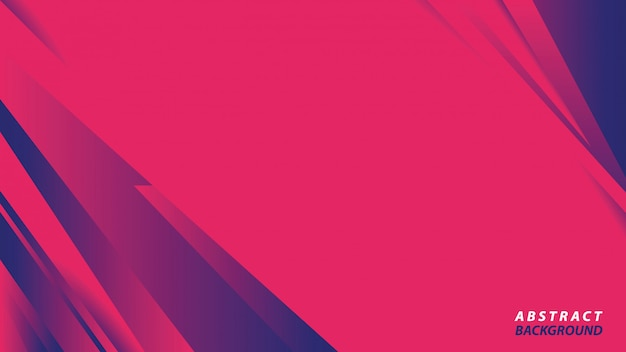 Abstract pink and blue background Premium Vector