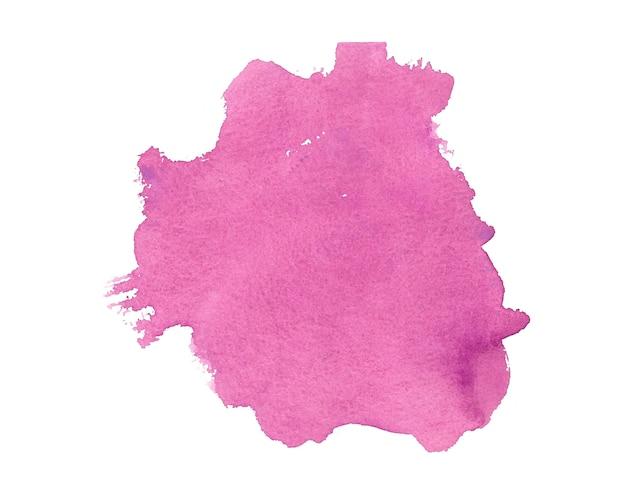 Абстрактный розовый ручная роспись акварель текстуры фона Бесплатные векторы