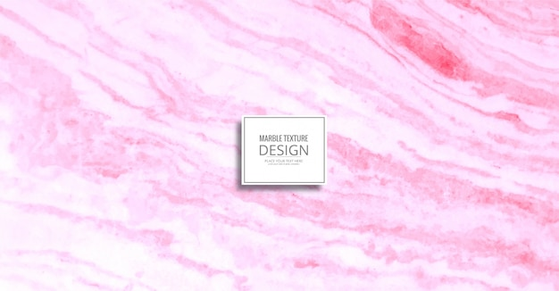 Abstract pink marble texture background Free Vector