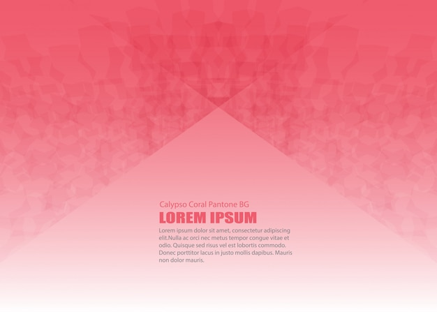 Abstract pink vector modern colorful flyers brochure and design template card background Premium Vector