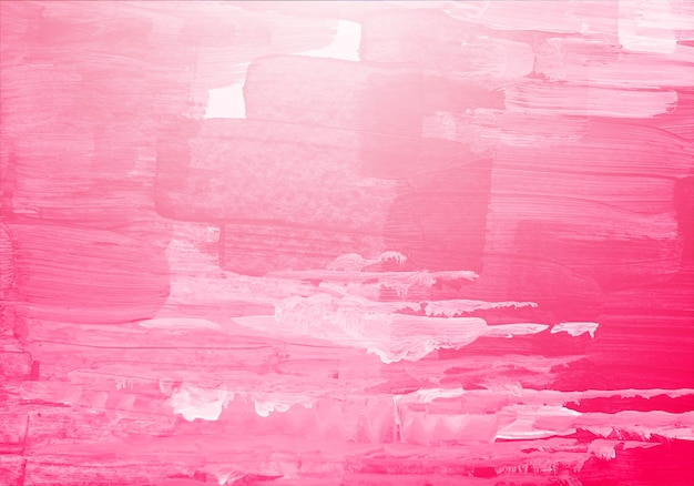 Abstract pink watercolor brush texture Free Vector