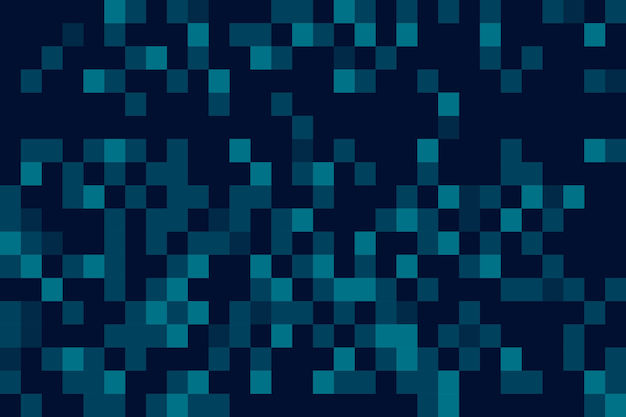 Abstract pixel rain screensaver Free Vector