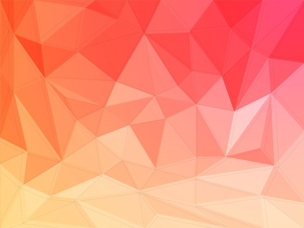 abstract polygonal background  creative geometric