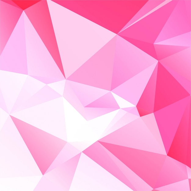 Abstract polygonal background design