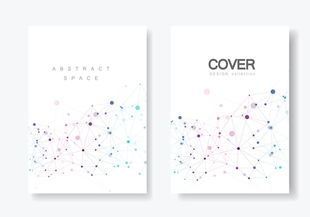Abstract polygonal geometric shape Premium Vector