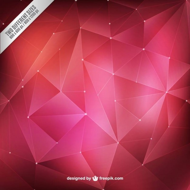 Abstract polygons background Premium Vector