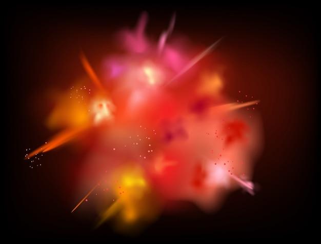 抽象的な粉体飛び散っベクトルの背景 Premiumベクター
