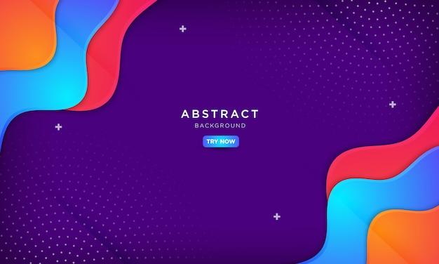 Абстрактный фиолетовый фон, абстрактные творческие фоны. Premium векторы