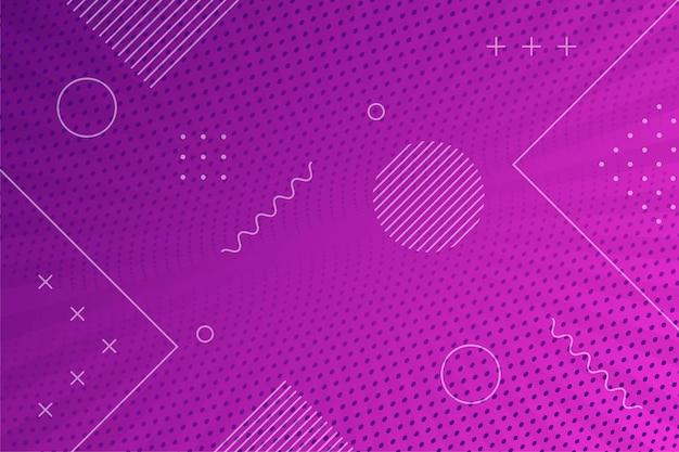 抽象的な紫色のハーフトーンの背景 Premiumベクター