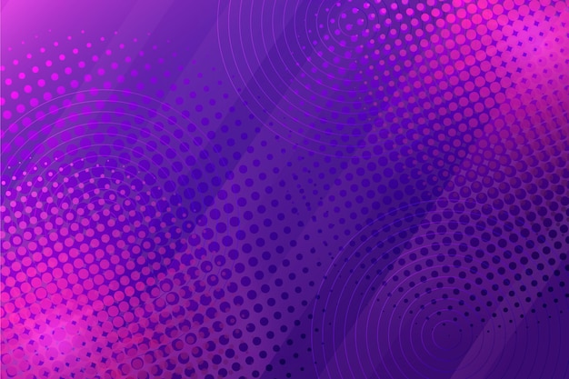 Abstract purple halftone background Premium Vector