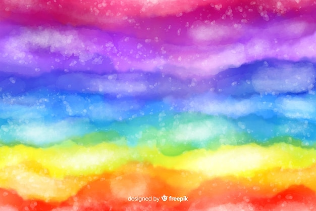 Abstract rainbow  tie-dye background Free Vector