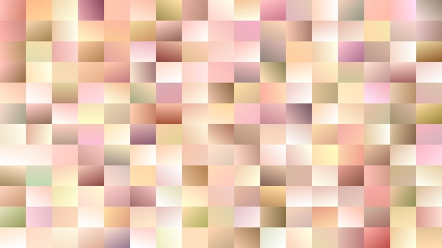 Abstract rectangle background - gradient mosaic vector design from colorful rectangles Free Vector