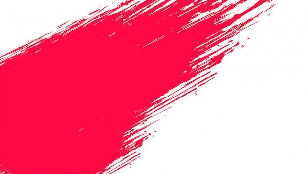 Абстрактный красный и белый гранж фон Бесплатные векторы