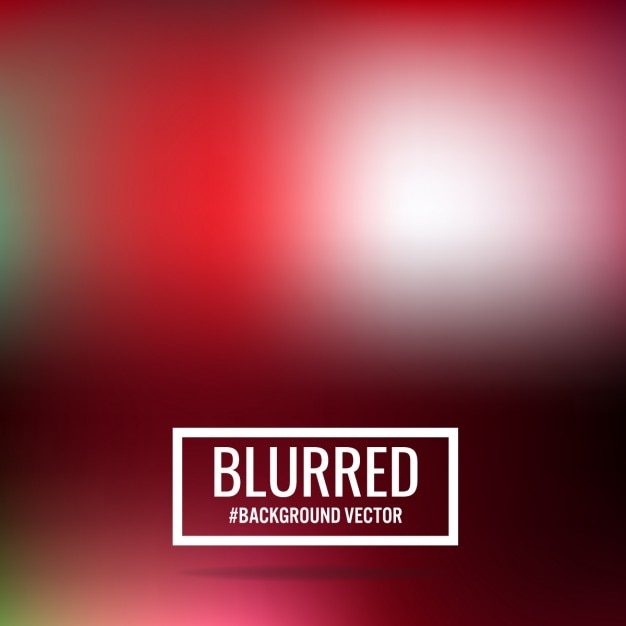 Abstract red blurred background