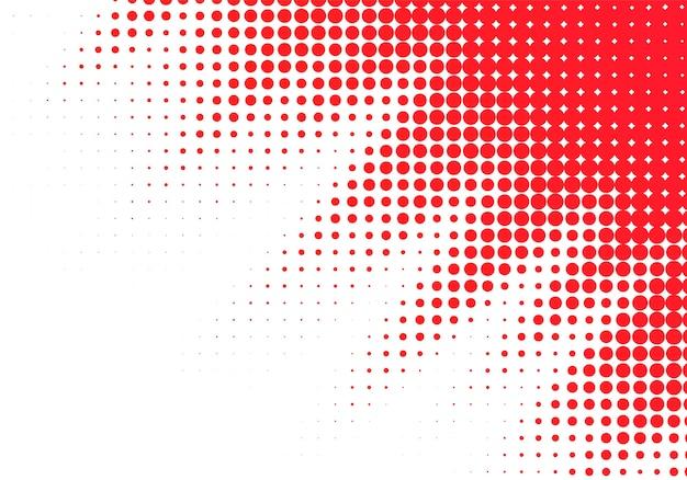 Абстрактный красный пунктирный Бесплатные векторы