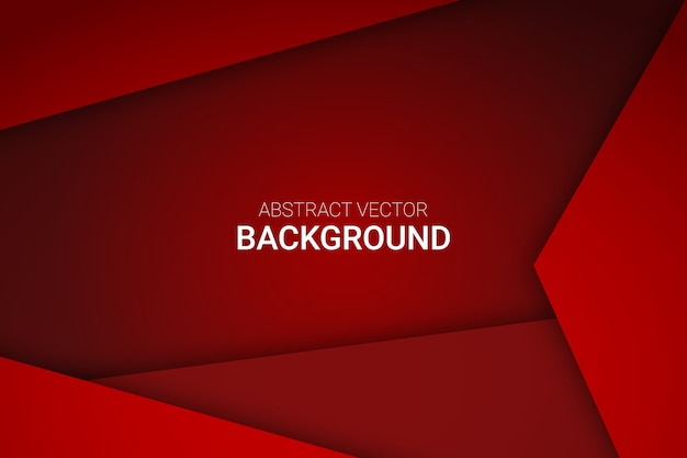 Premium Vector Abstract Red Gradient Background