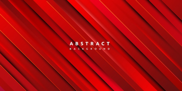 Premium Vector Abstract Red Gradient Stripe Background