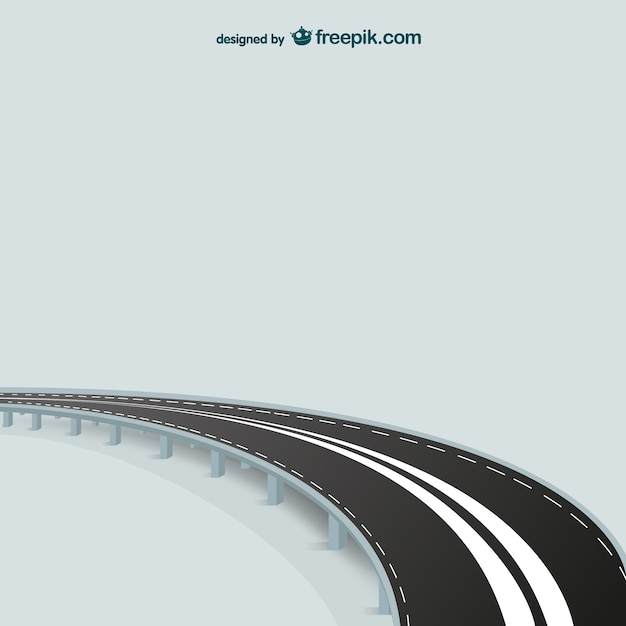 abstract road vector | free download