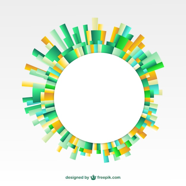 Abstract round frame Vector | Free Download