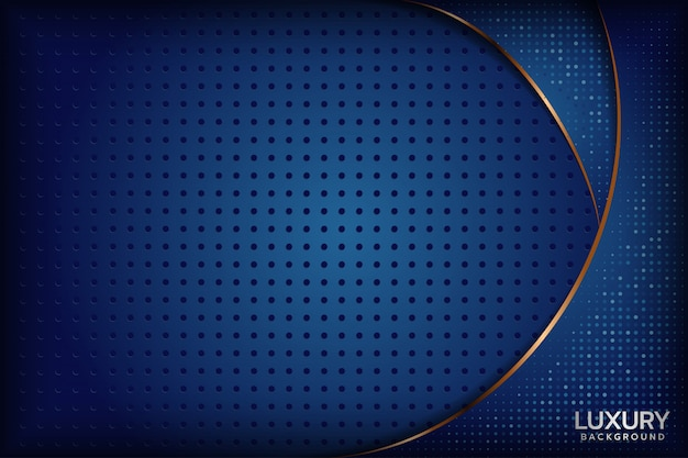 Abstract royal blue background Premium Vector