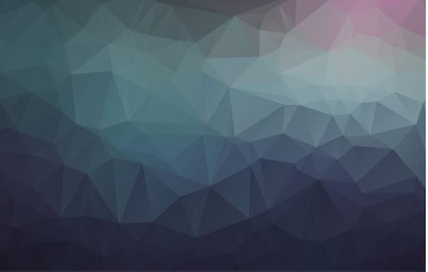 Abstract rumpled triangular background Premium Vector