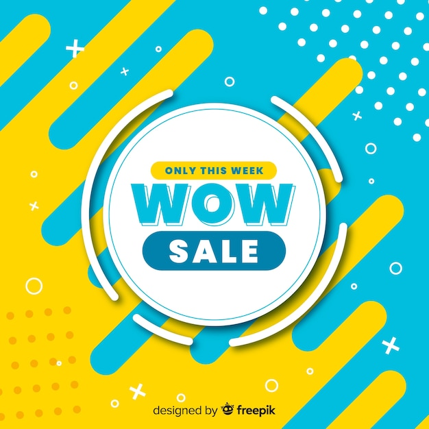 Abstract sale promotion banner template Vector | Free Download
