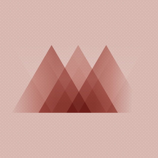 Abstract scandinavian style low poly design background Free Vector