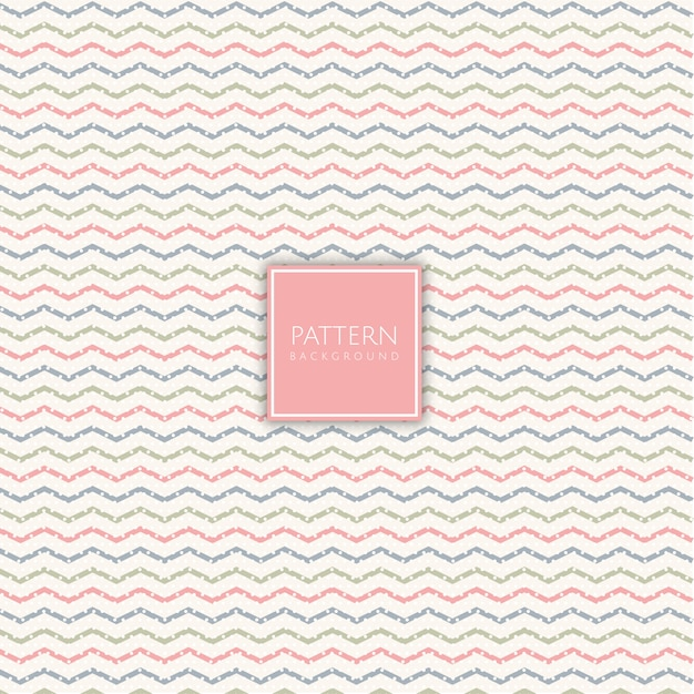 Abstract scandinavian style striped pattern Free Vector