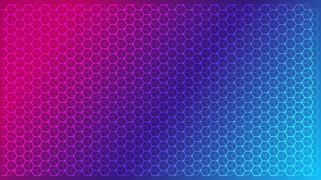 Abstract science and technology concept background Premium Vector
