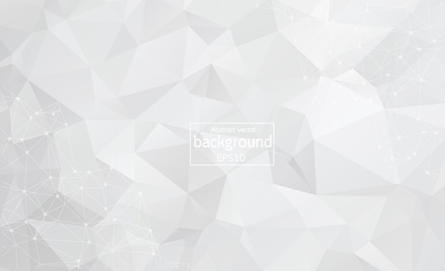Abstract science white background. Premium Vector