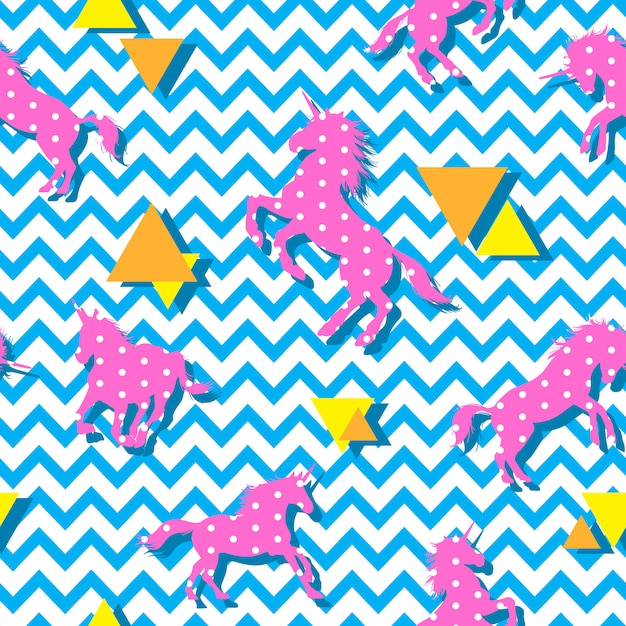 Abstract seamless pattern vector Premium Vector