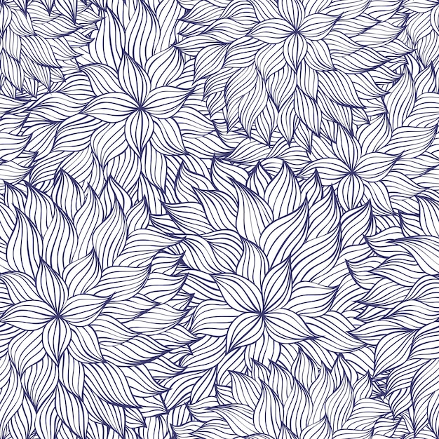 Abstract seamless pattern Premium Vector