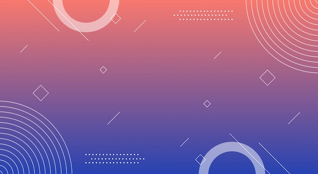 Abstract shape background Premium Vector