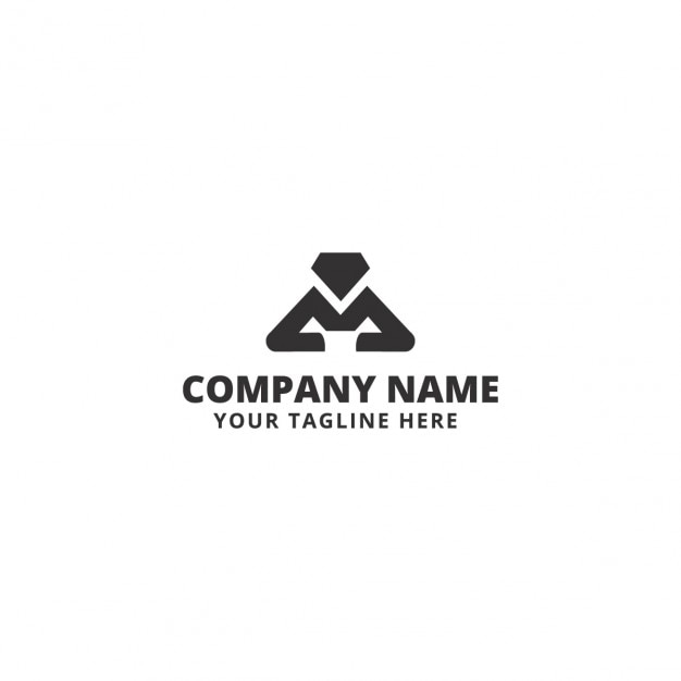 Abstract shape company logo