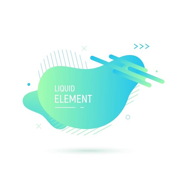 Abstract shape design Premium Vector